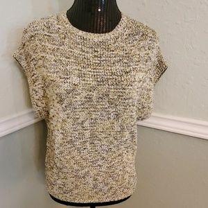 NWT H&M Cap Sleeve Sweater